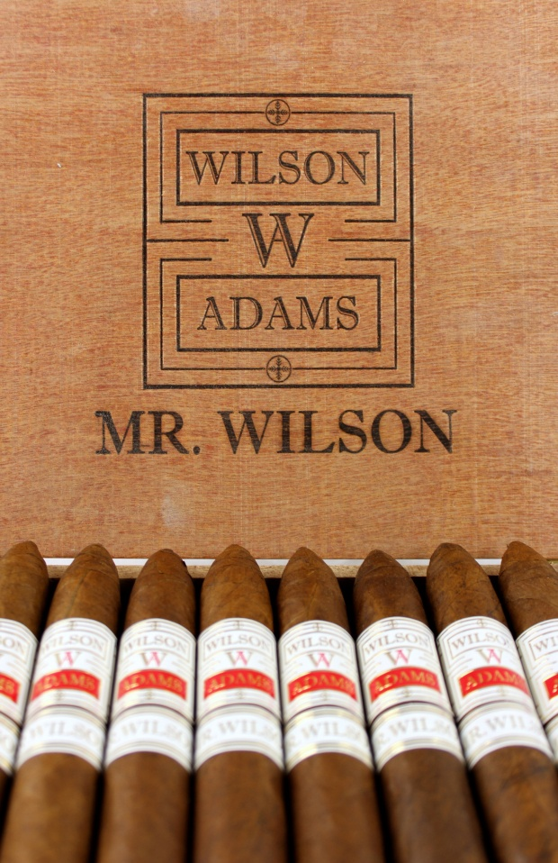 Wilson Adams Mr. Wilson Box Open Logo
