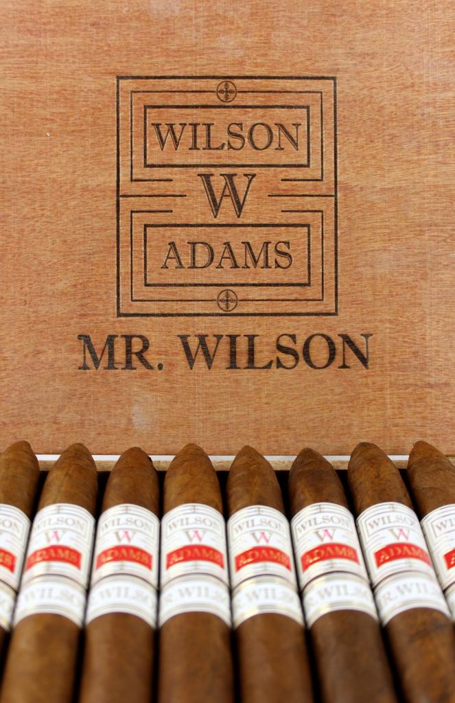 Wilson Adams Mr. Wilson Box Open Logo