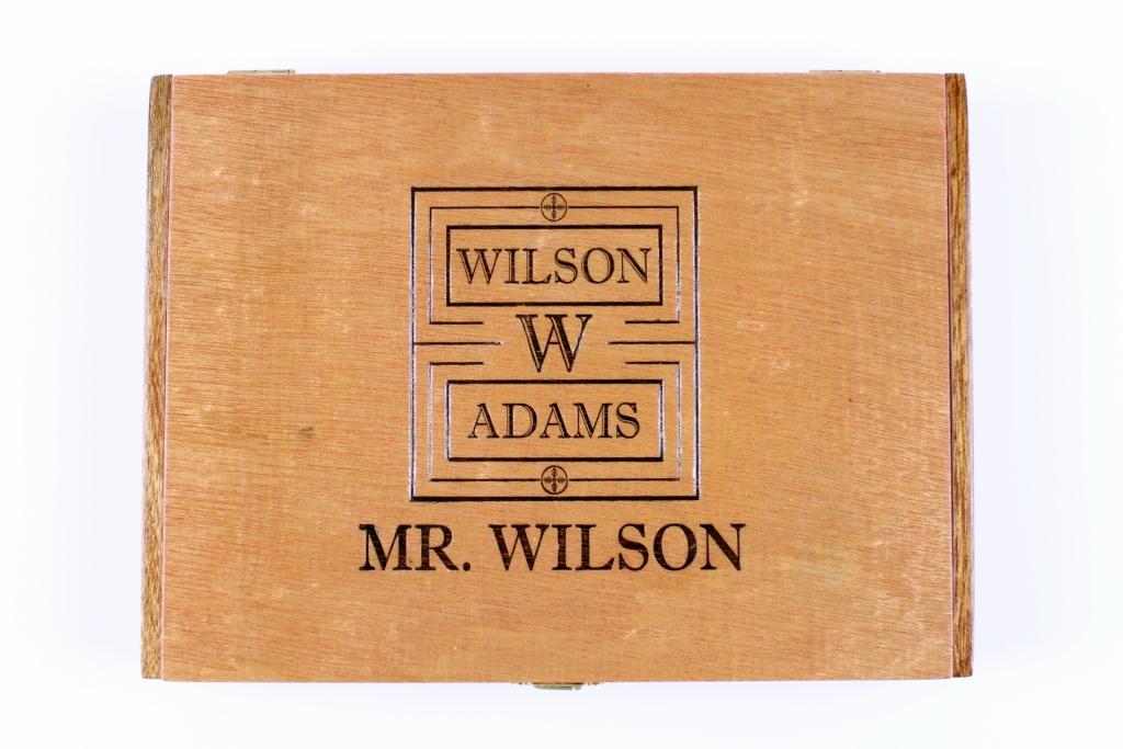 Wilson Adams Mr. Wilson Box Top