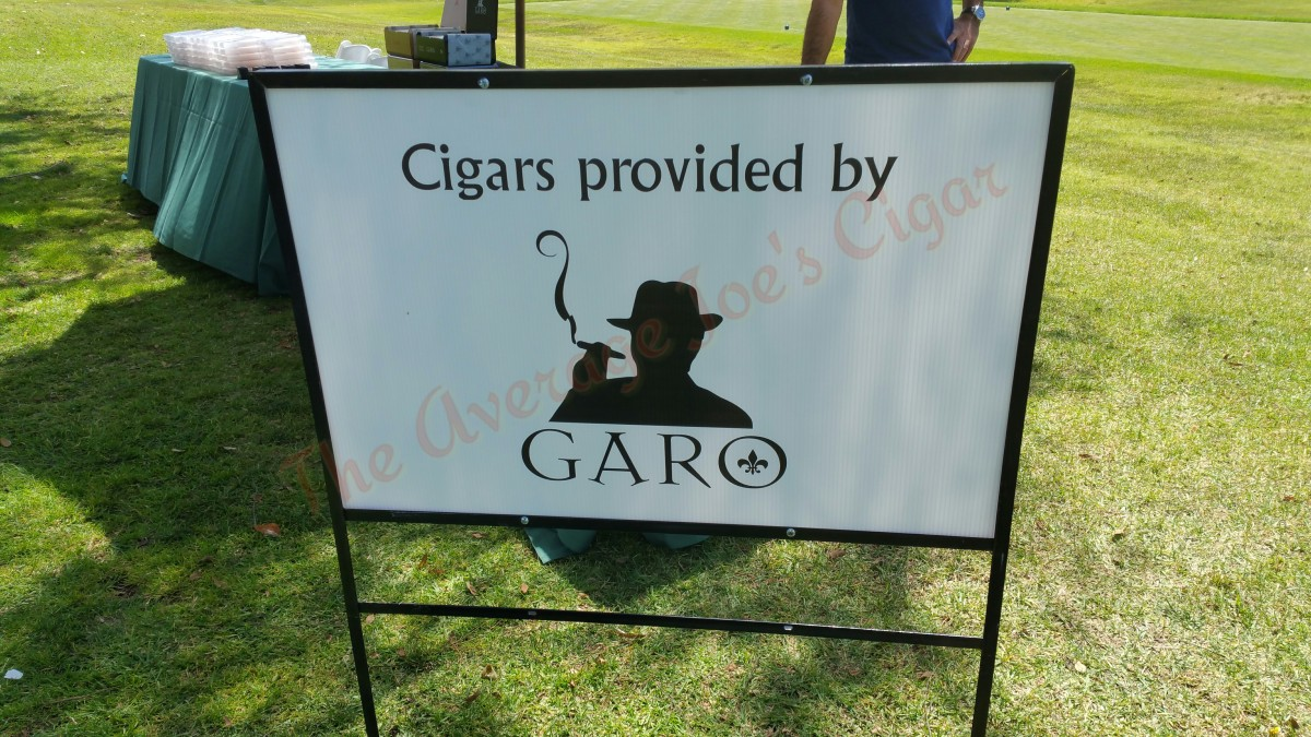 "Garo Cigars official cigar host at ""16th annual LASEC Golf Classic"""