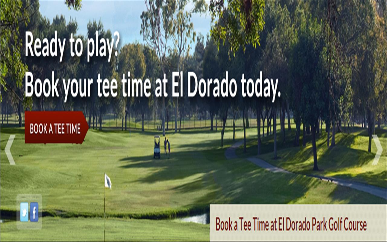 El Dorado Park Golf Course In Longbeach CA Home To The Prestigious Long Beach Open