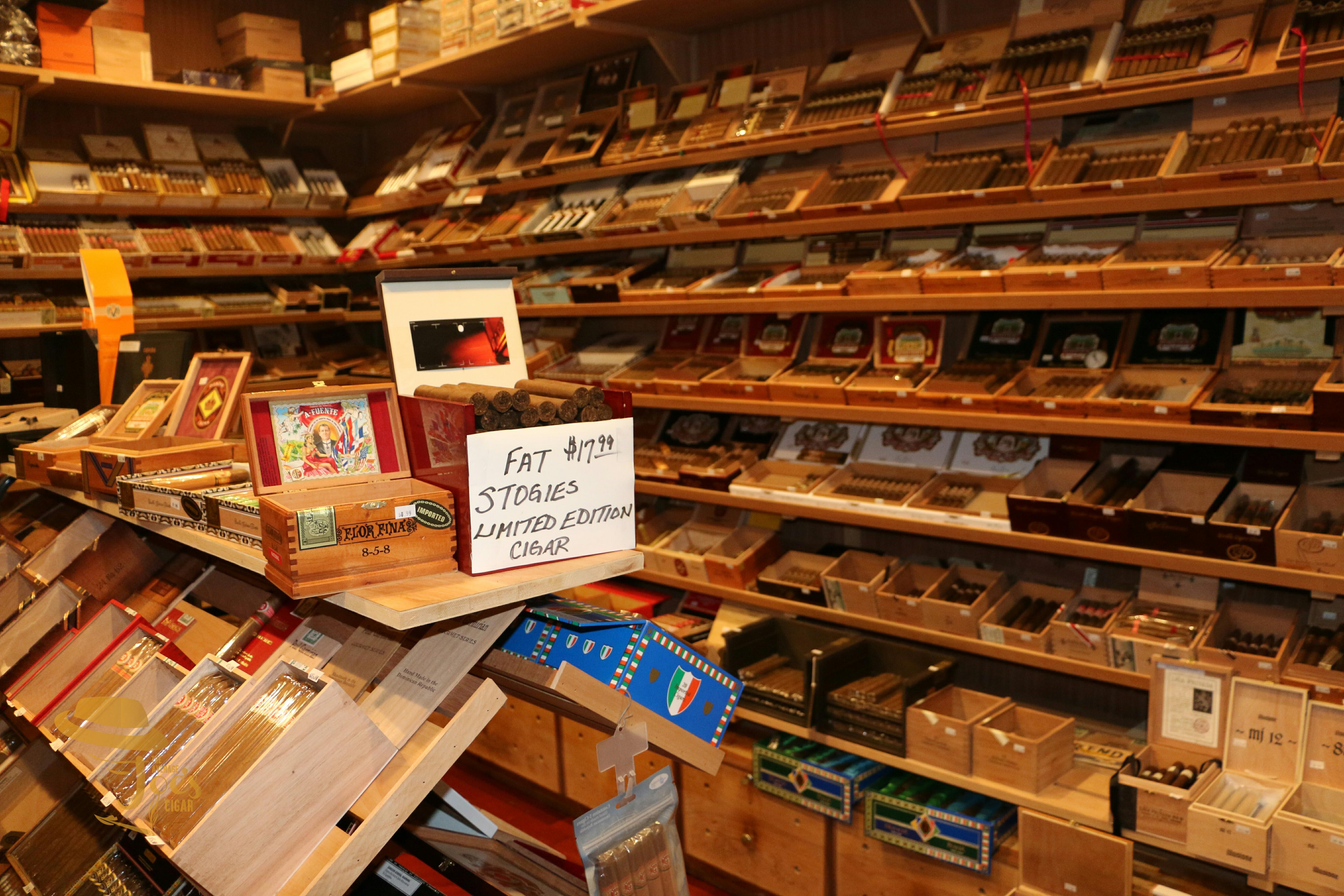"Fat Stogies Cigar Lounge In Encino, California. ""luxury"