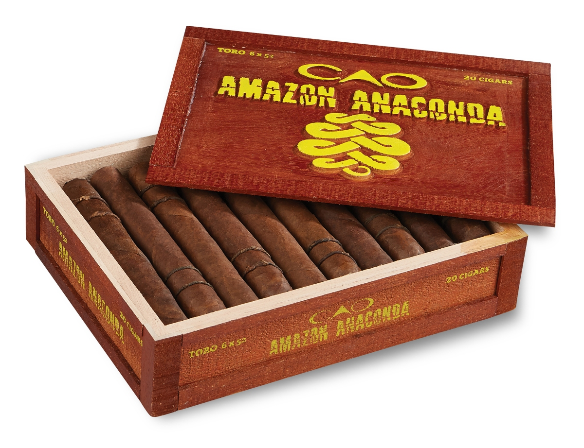 News: CAO UNLEASHES AMAZON ANACONDA.