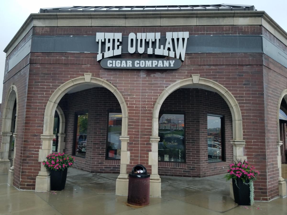 "Outlaw Cigar North Kansas City, MO. ""The Worlds Baddest Cigar Store"""
