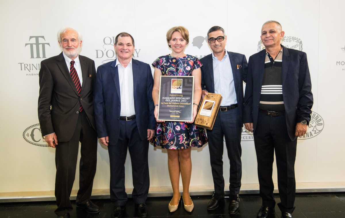 News: Habanos, S.A. awarded once again at Inter-Tabac Dortmund Fair 2017, Germany.