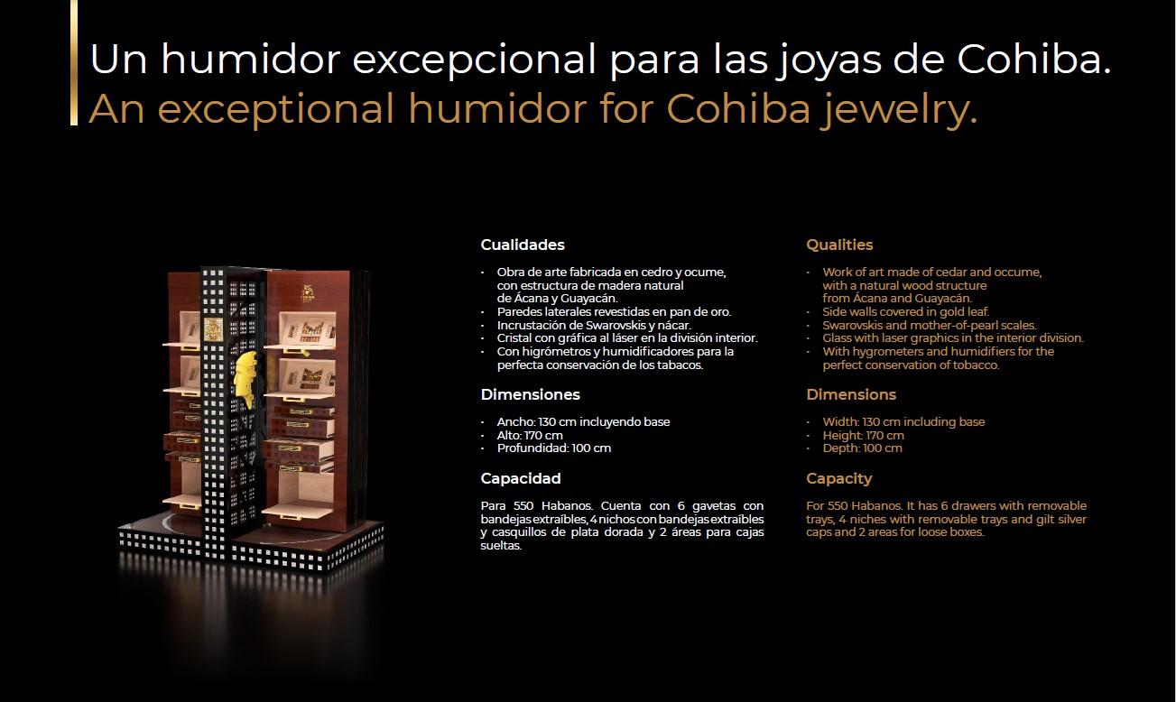 Cohiba 3 Humidor
