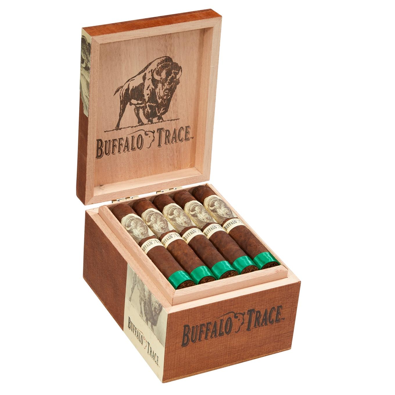Buffalo Trace Cigar. Open Box